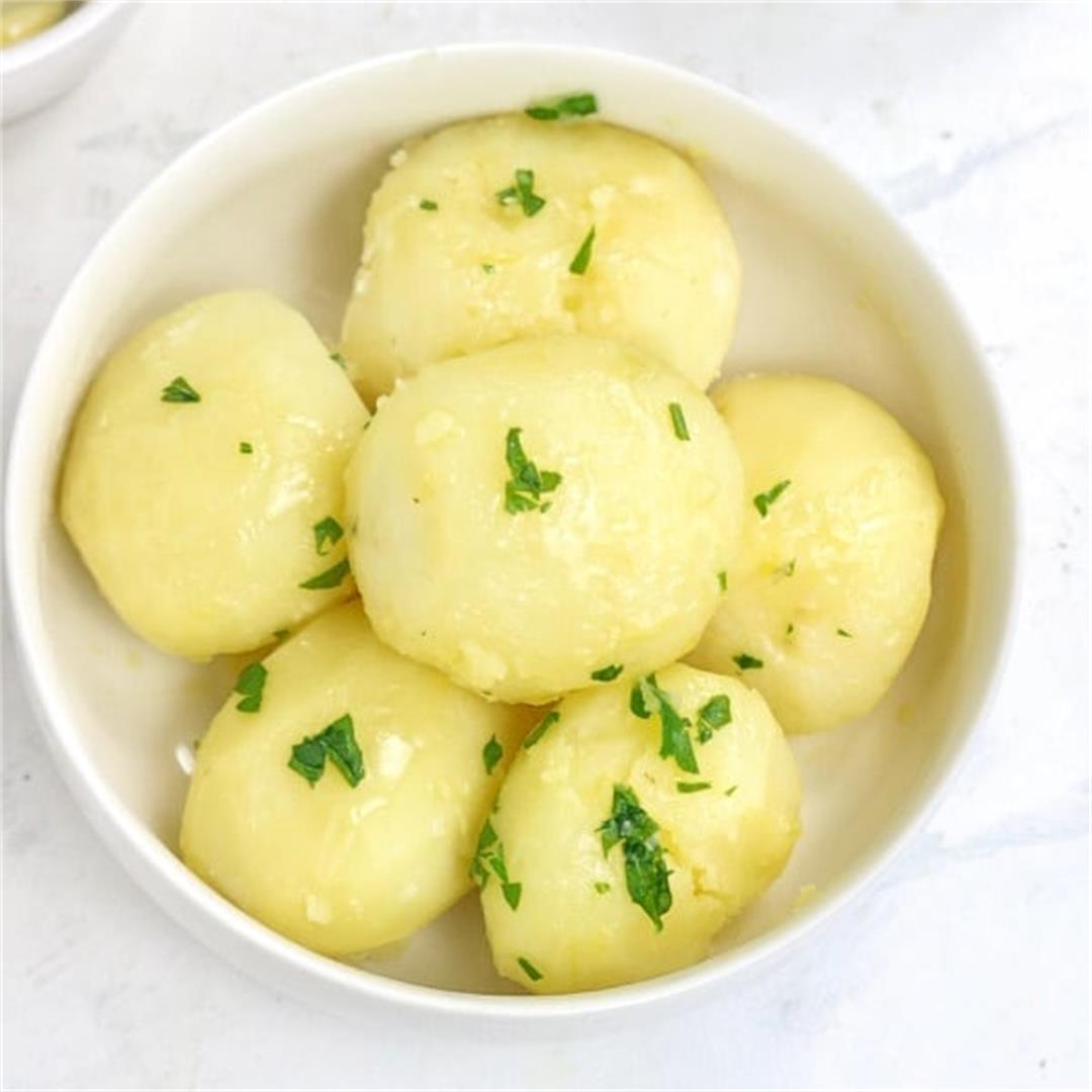 How to Boil Potatoes-Boiled Potatoes Recipe