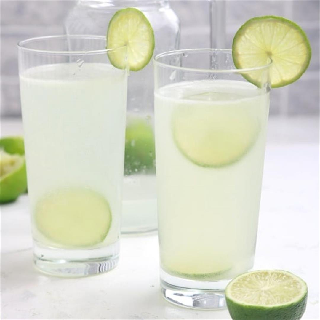 Lime Juice Recipe (Limeade)
