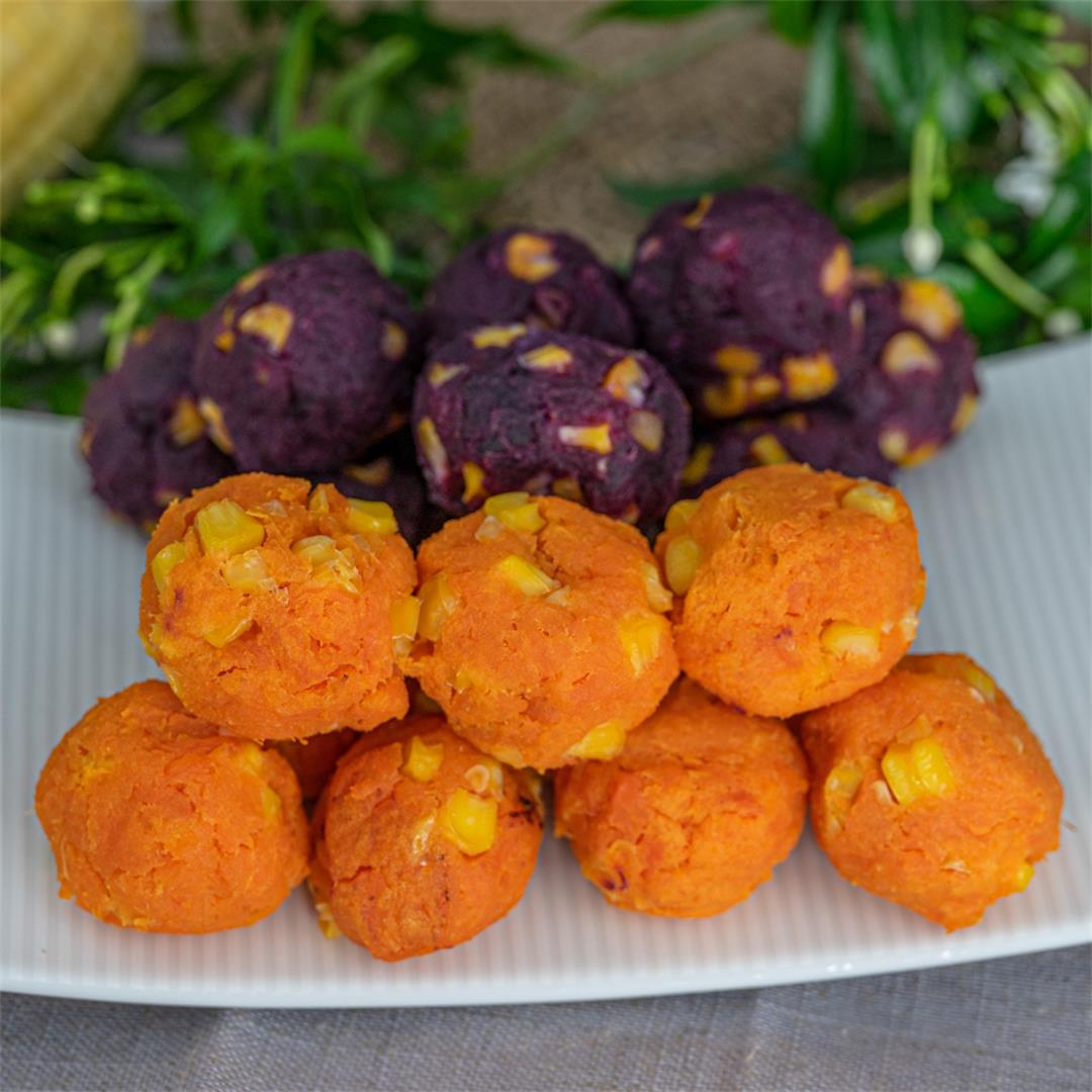 Sweet Potato Balls Recipe