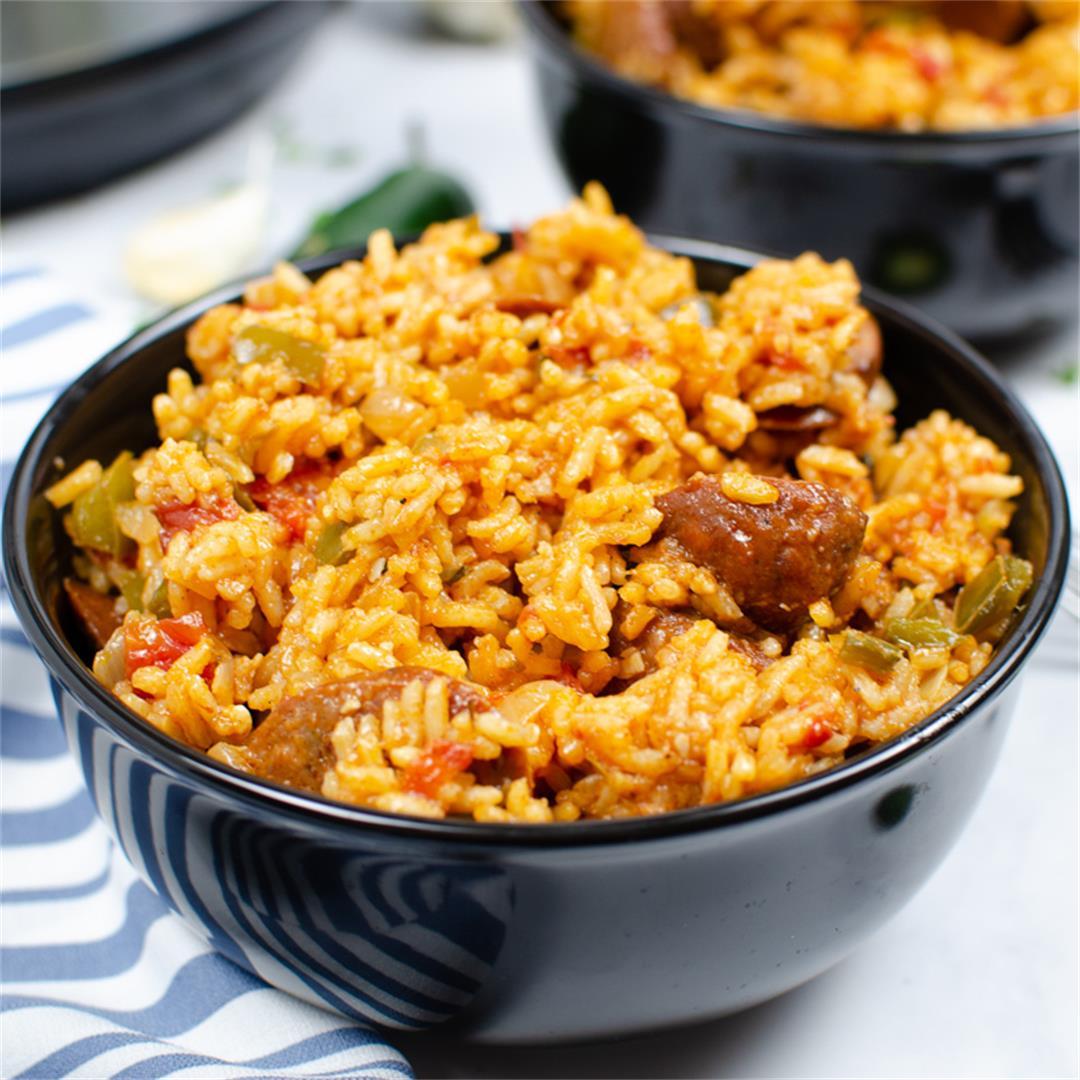 Instant Pot Sausage Jambalaya