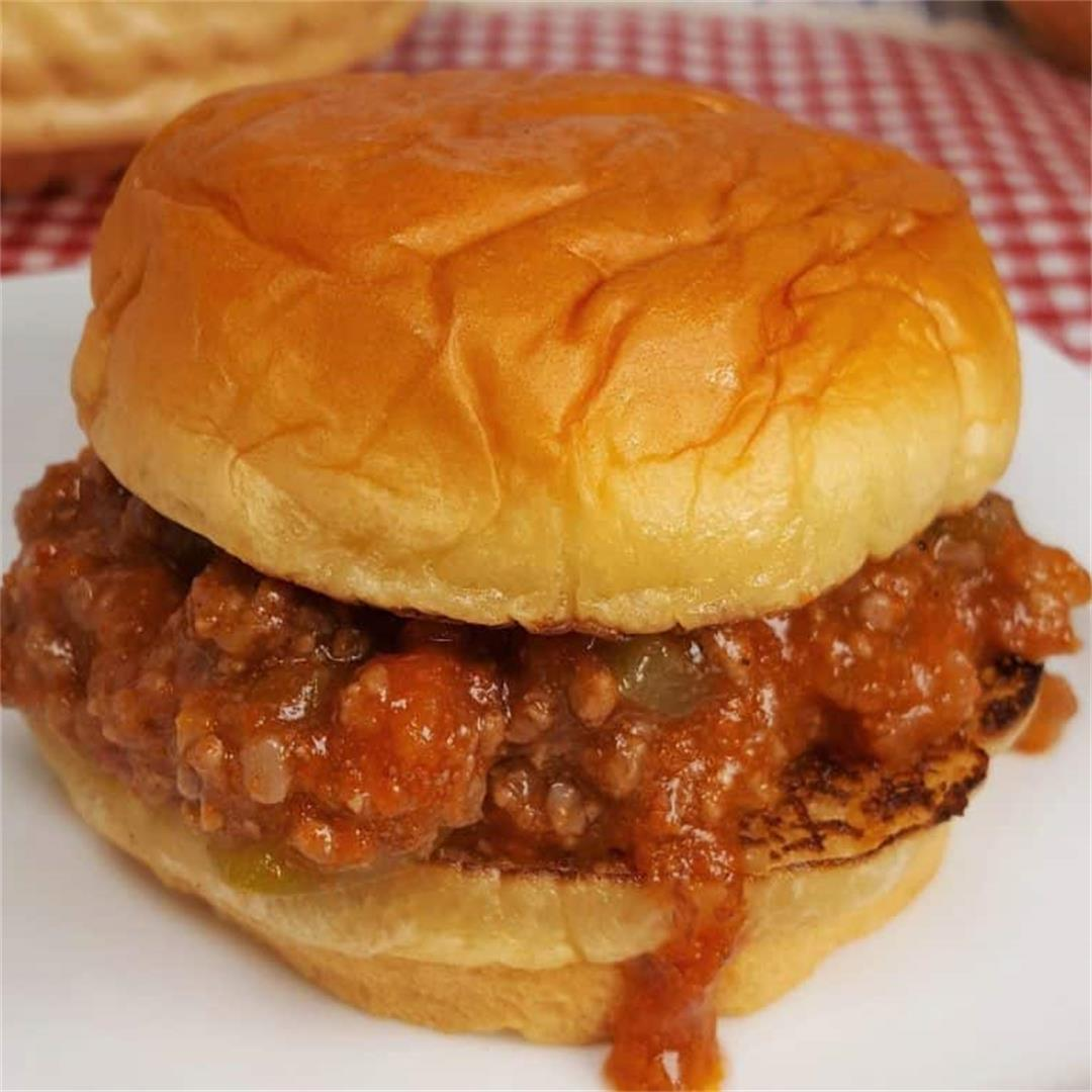 Incredible Instant Pot Sloppy Joes