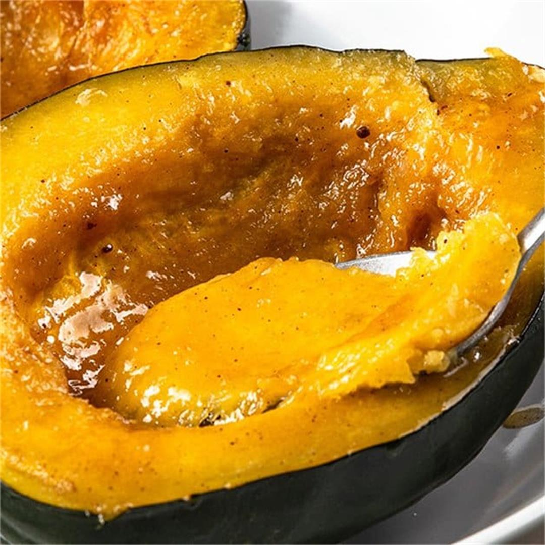 Instant Pot Buttery Sweet Acorn Squash
