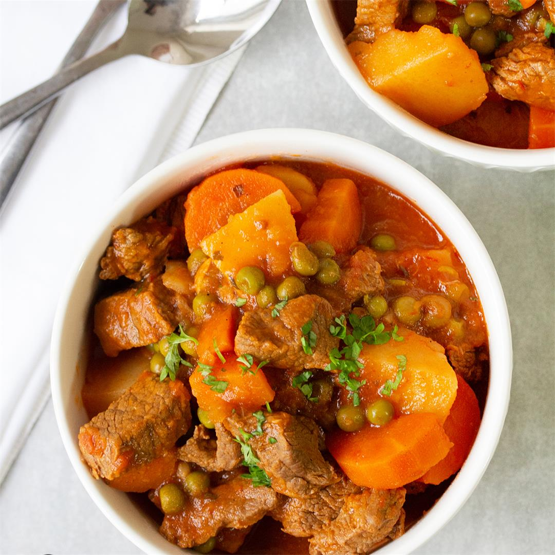 Easy Homemade Beef Stew With Veggies-Healthy Life Trainer