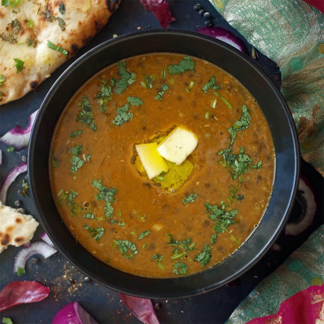 Maa ki Dal - Comforting Black Lentil Soup