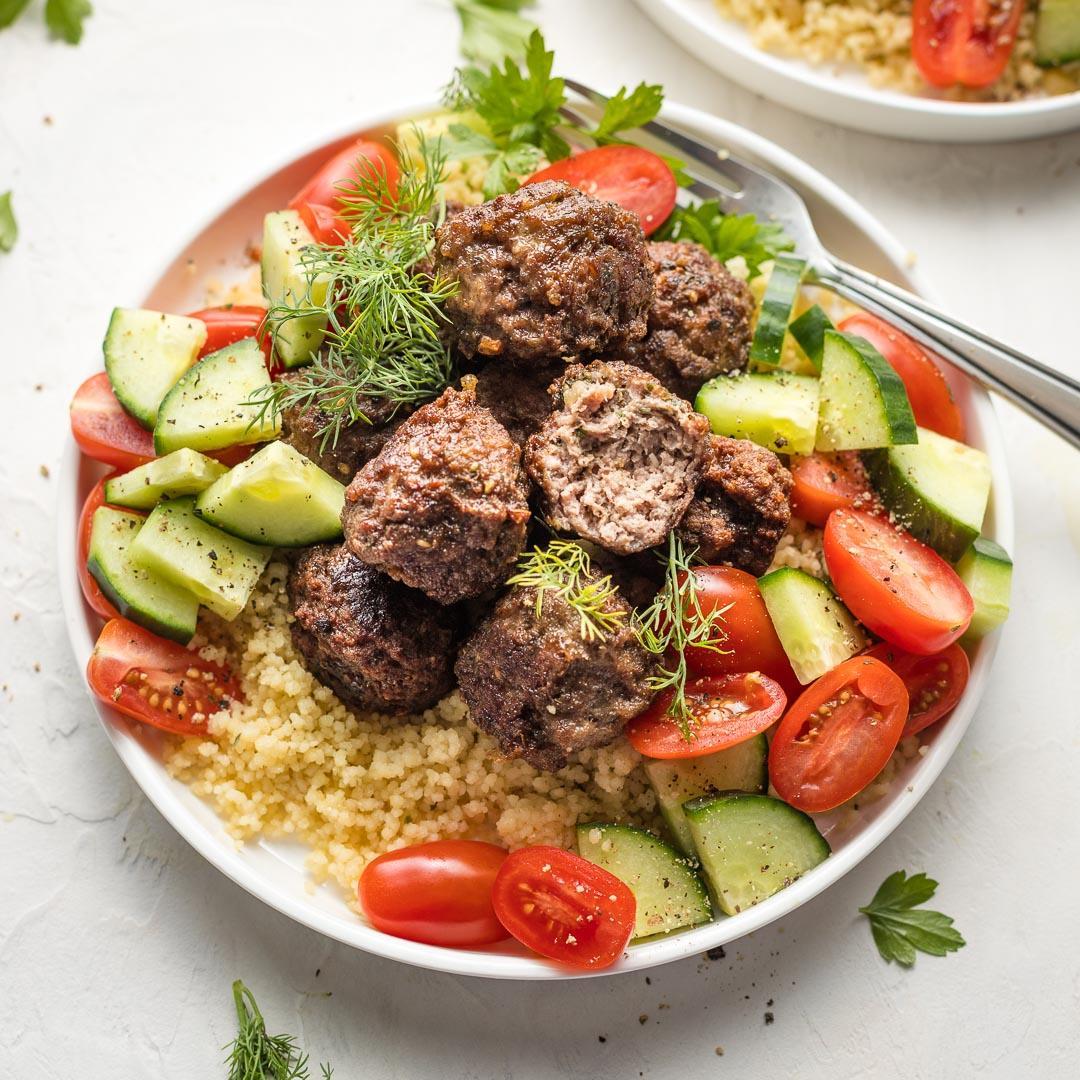 Za'atar-Spiced Lamb Meatballs