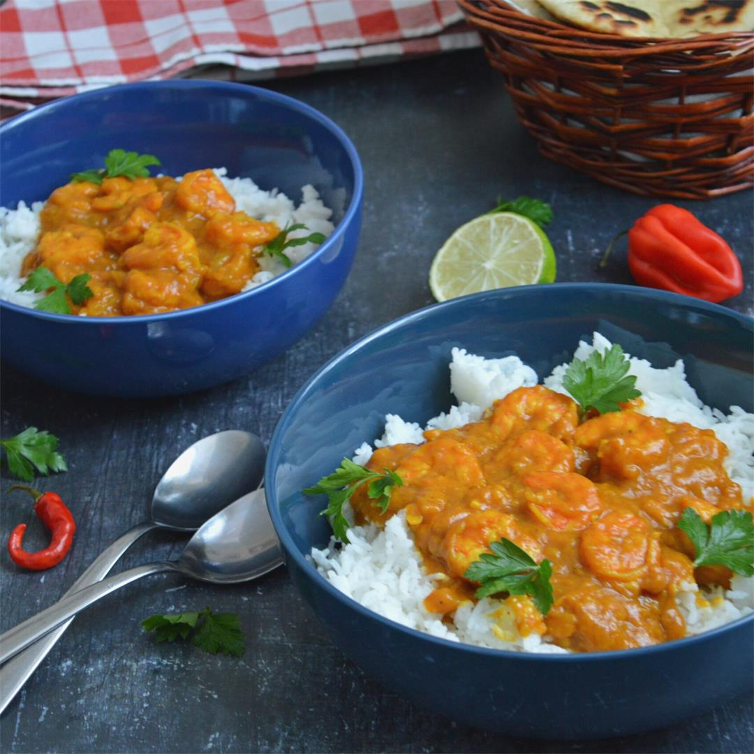Quick Prawn Curry — Tasty Food for Busy Mums Weeknight Dinner