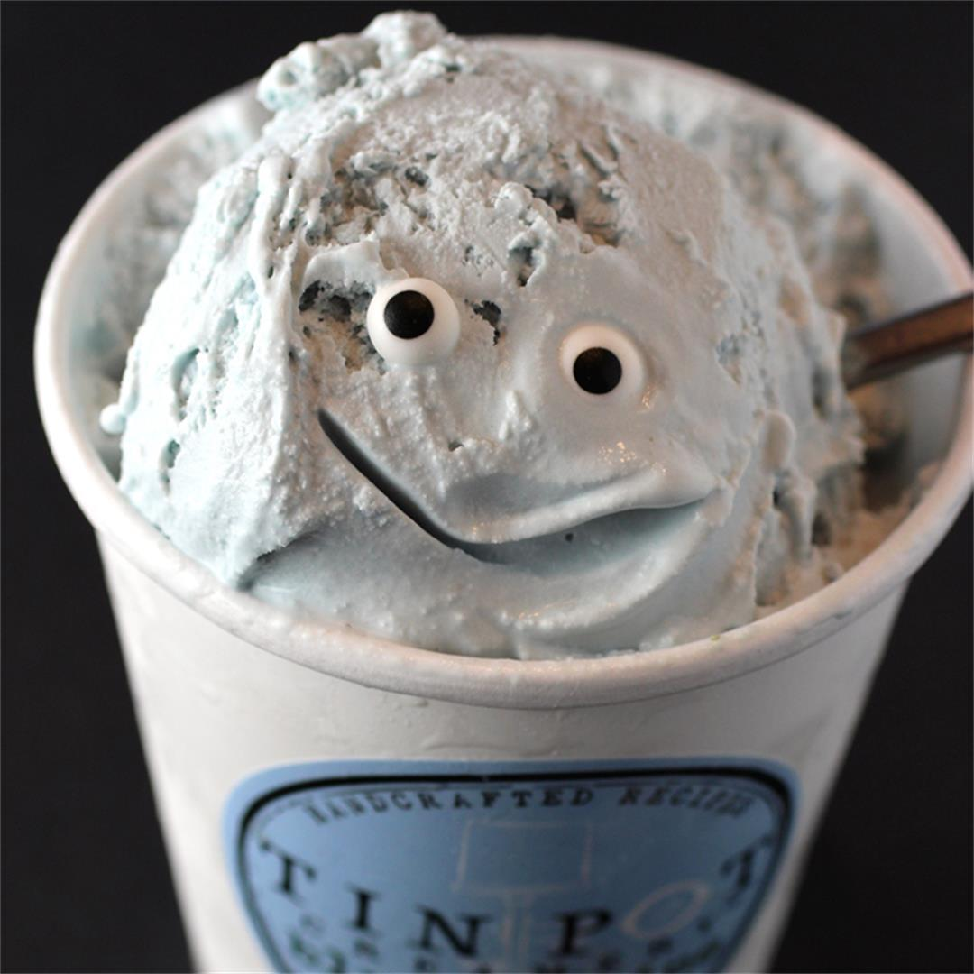 Blue Jasmine Ice Cream