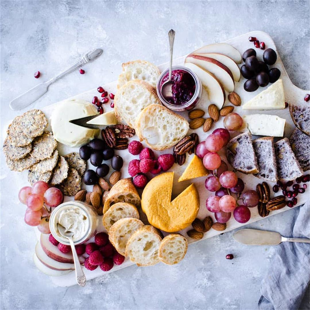 How to Make A Vegan Cheese Board
