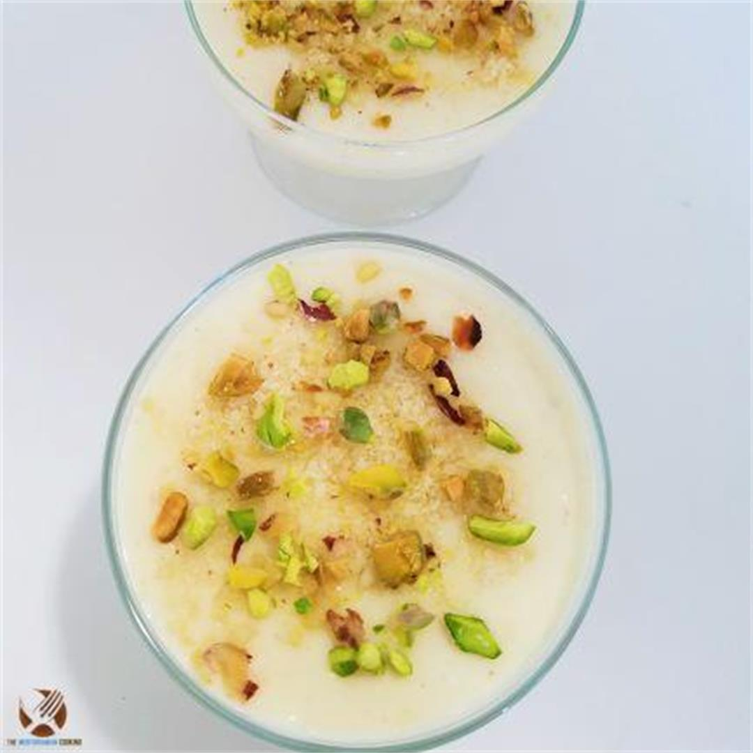 Mahalabia ( Milk Pudding)