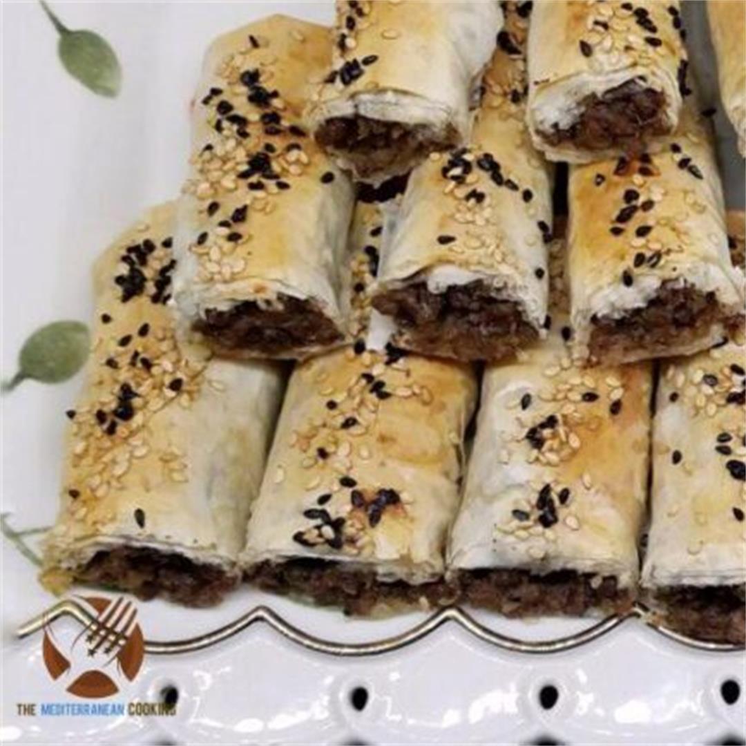 Beef Burek Rolls