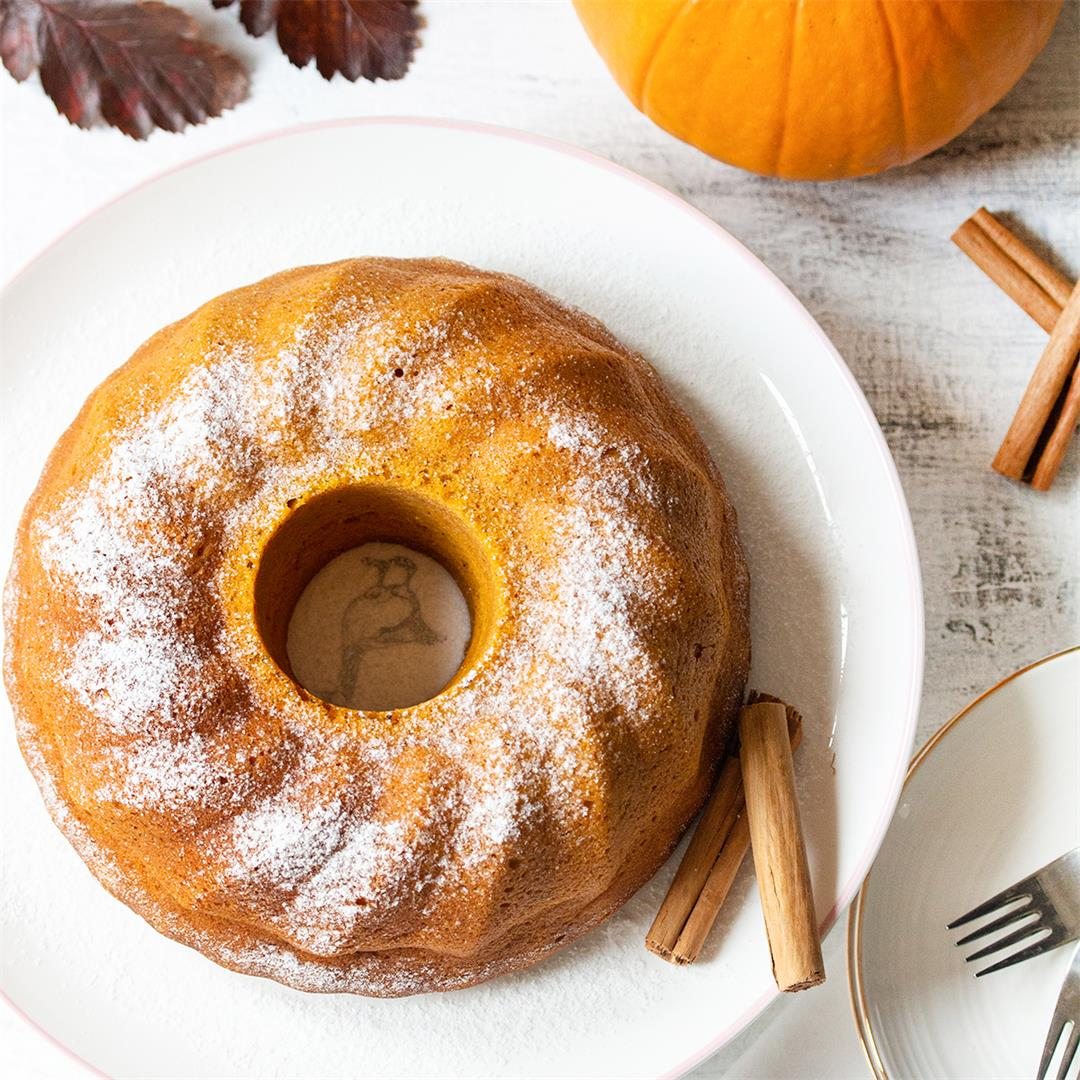 Pumpkin Bundt Cake Recipe-Healthy Life Trainer