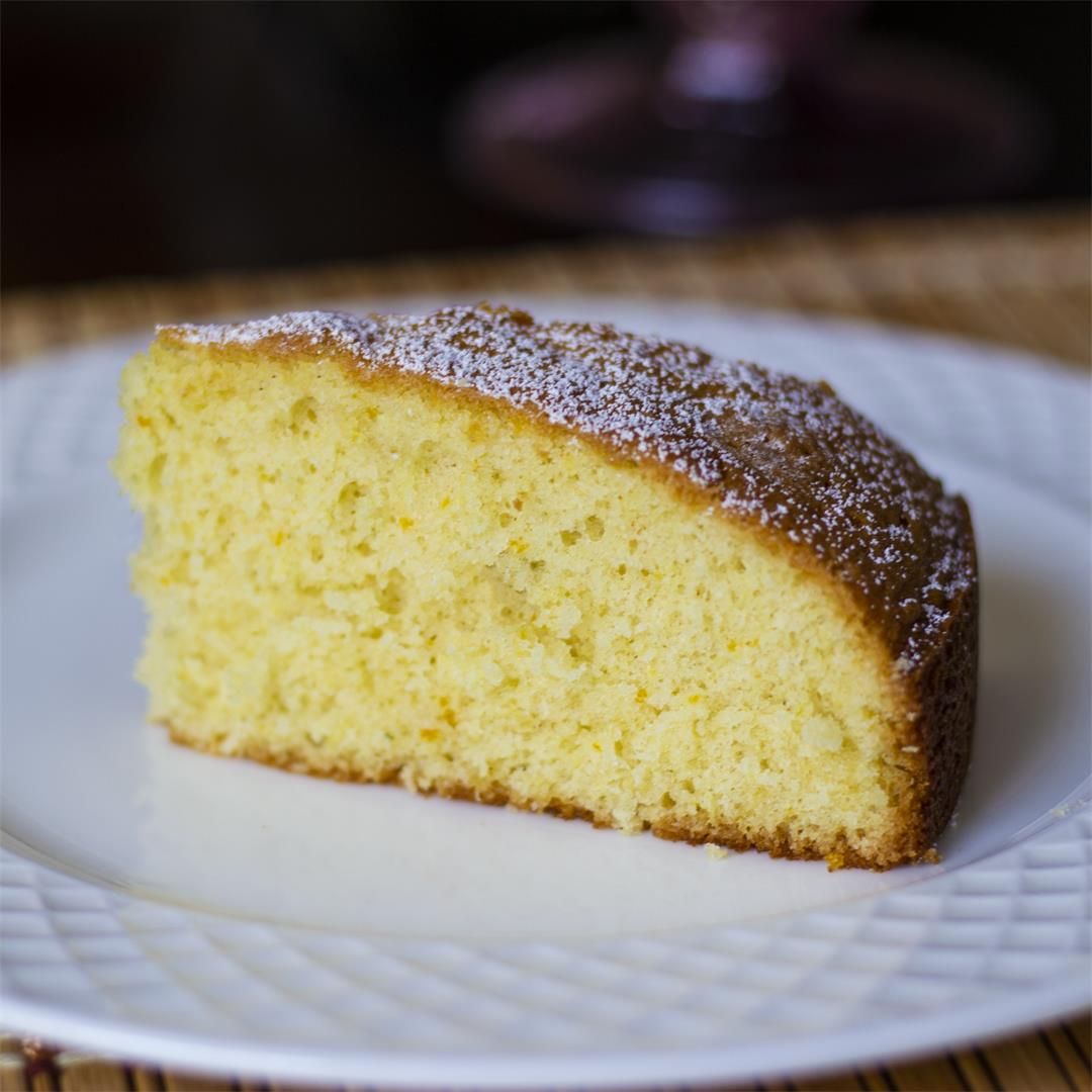Citrus Olive Oil Cake recipe