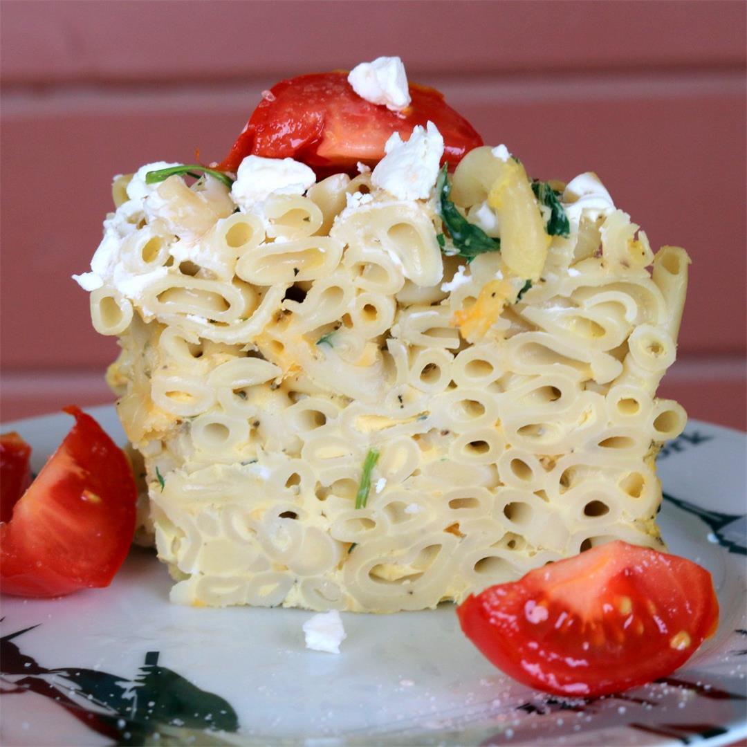 Italian Pasta Cheese Torte