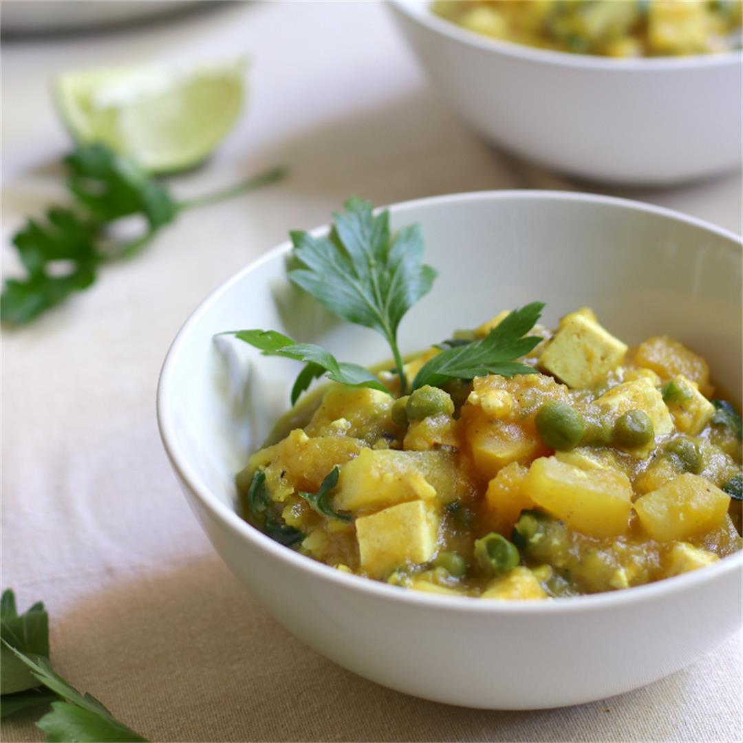 Vegan Acorn Squash Stew