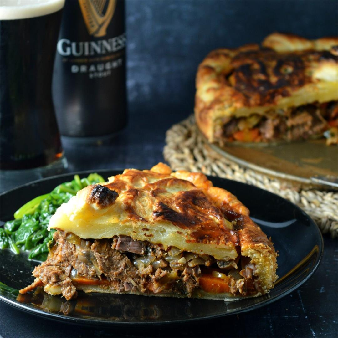 Beef & Irish Stout Pie — Tasty Food for Busy Mums Weeknight Din