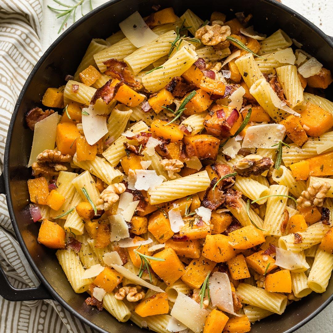 Roasted Butternut Squash Pasta