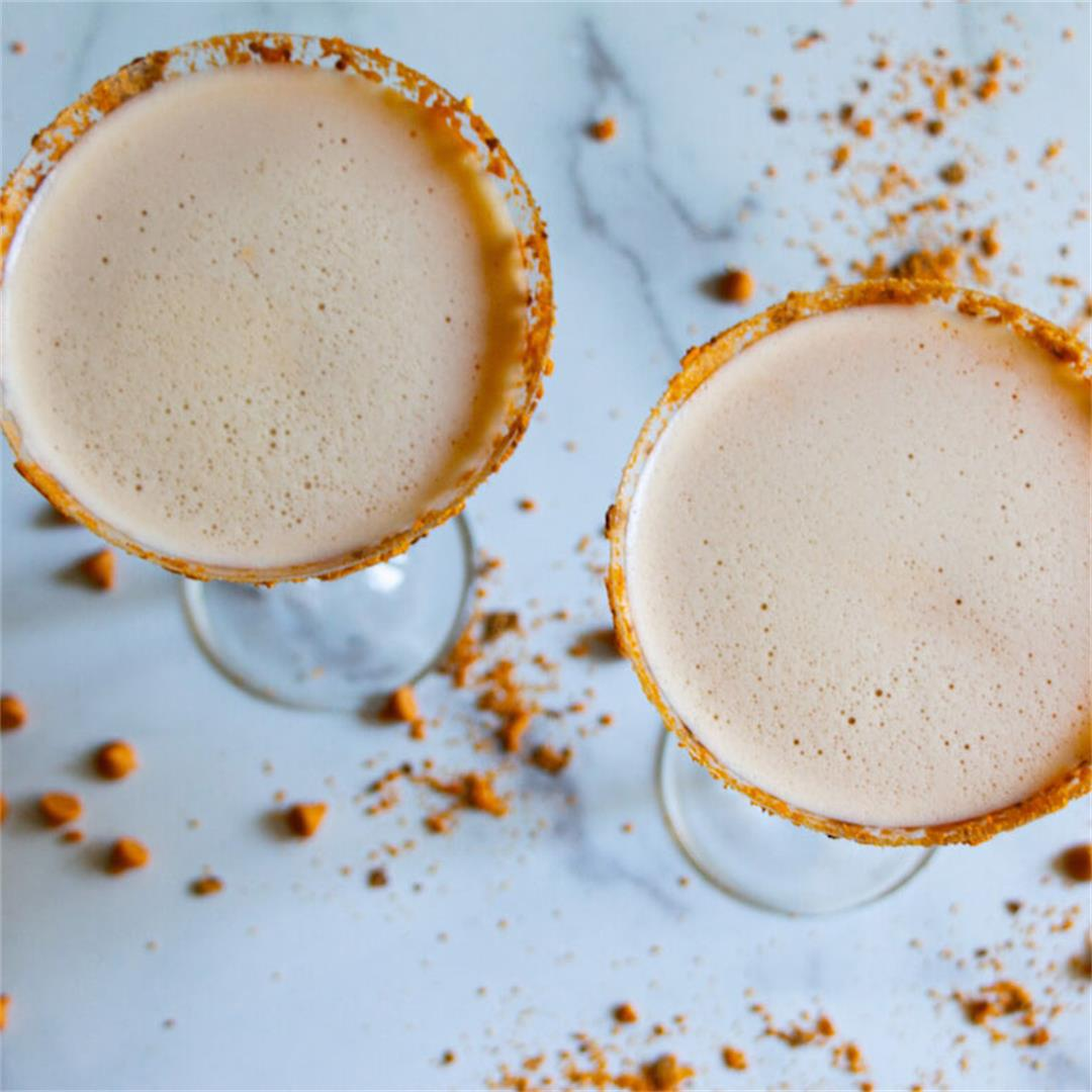 Butterscotch Schnapps Butterfinger Drink