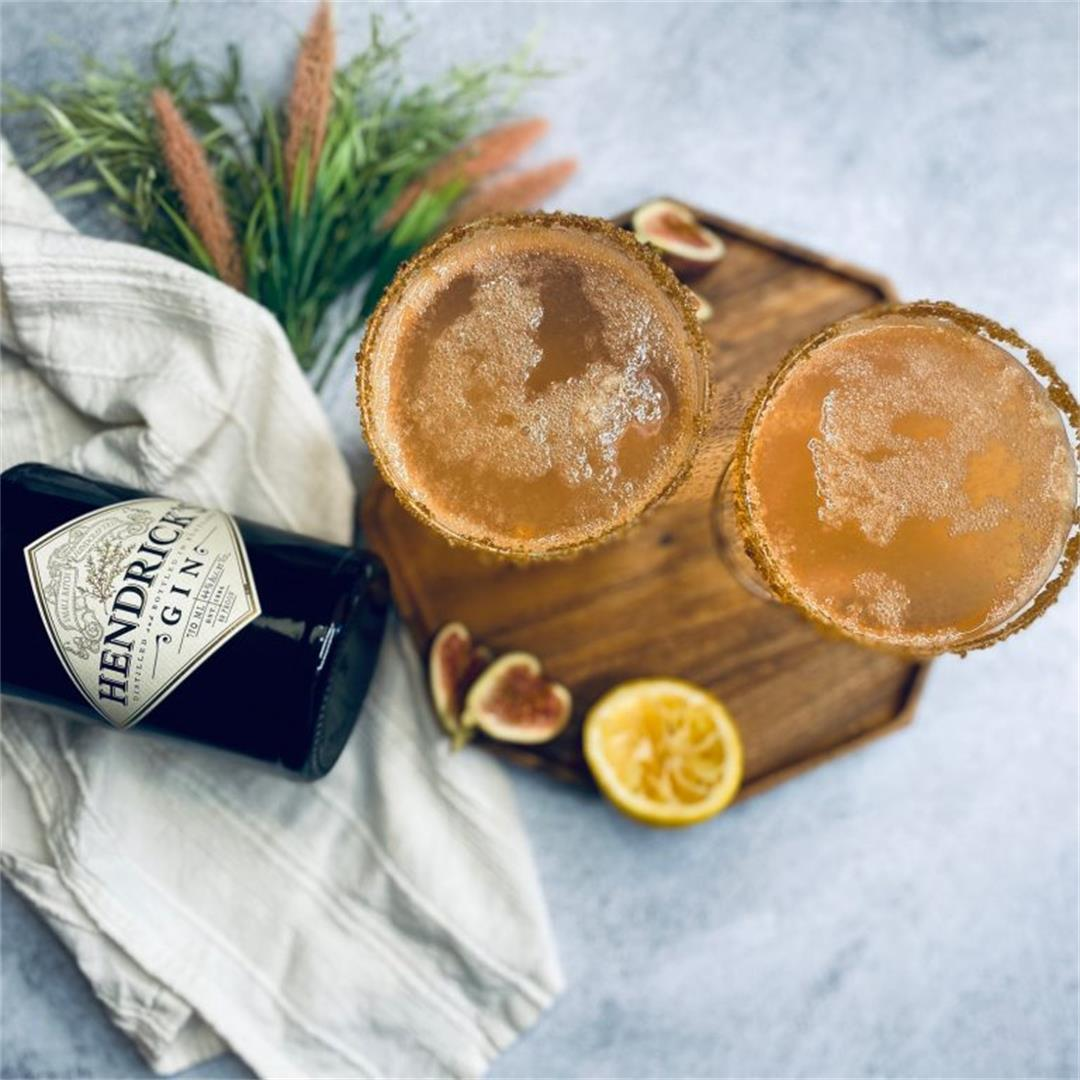 Vanilla Fig Gin Cocktail