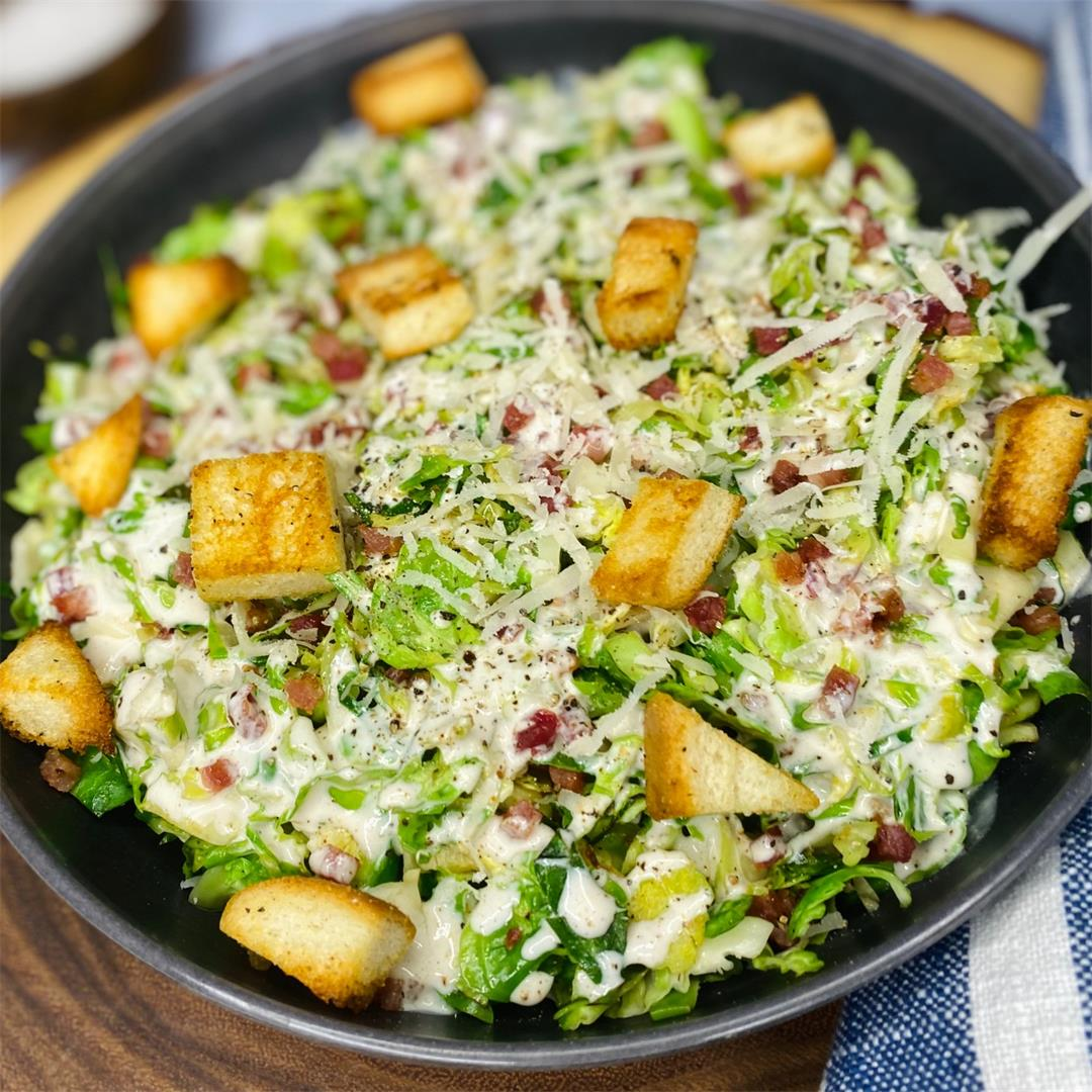 Brussel Sprout Caesar Salad