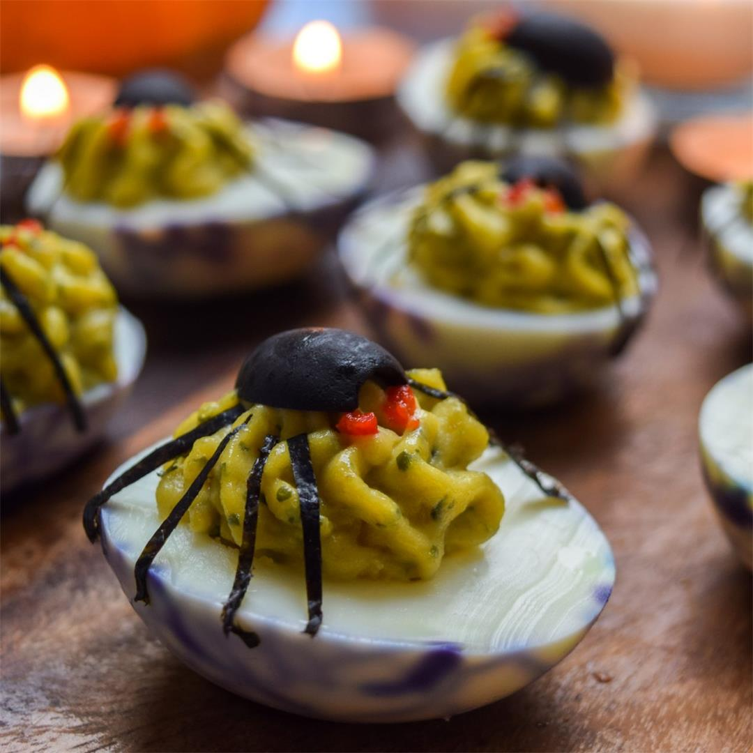 Devilled Spiders Eggs