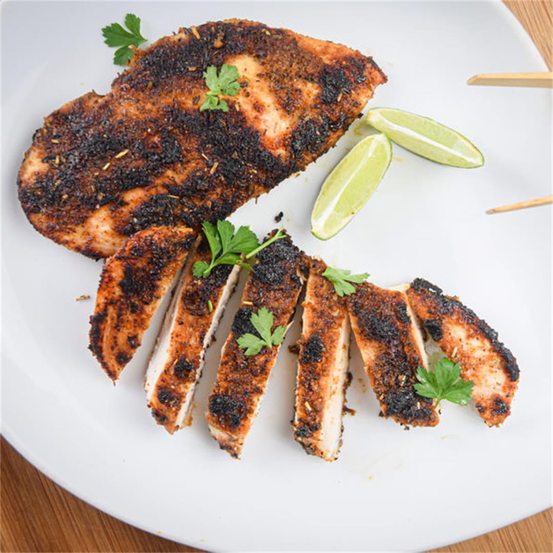 How to Make Blackened Chicken