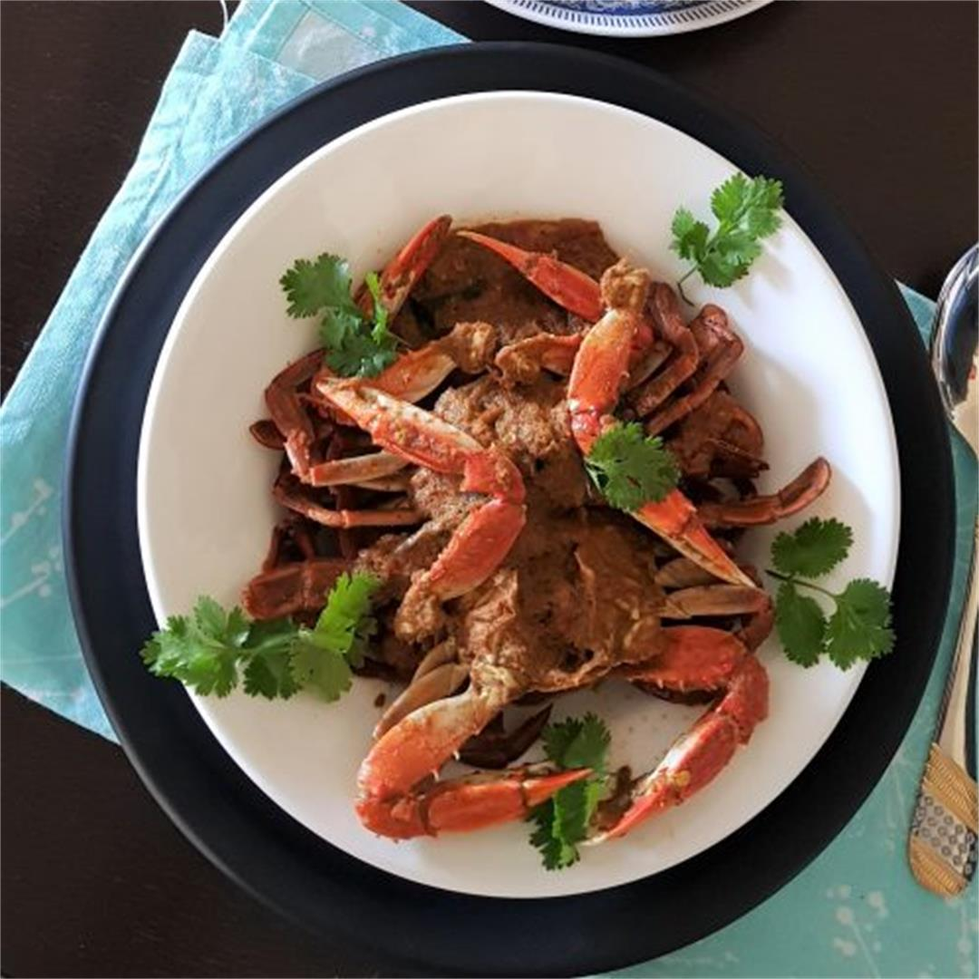 Crab Curry /Nandu Masala Recipe