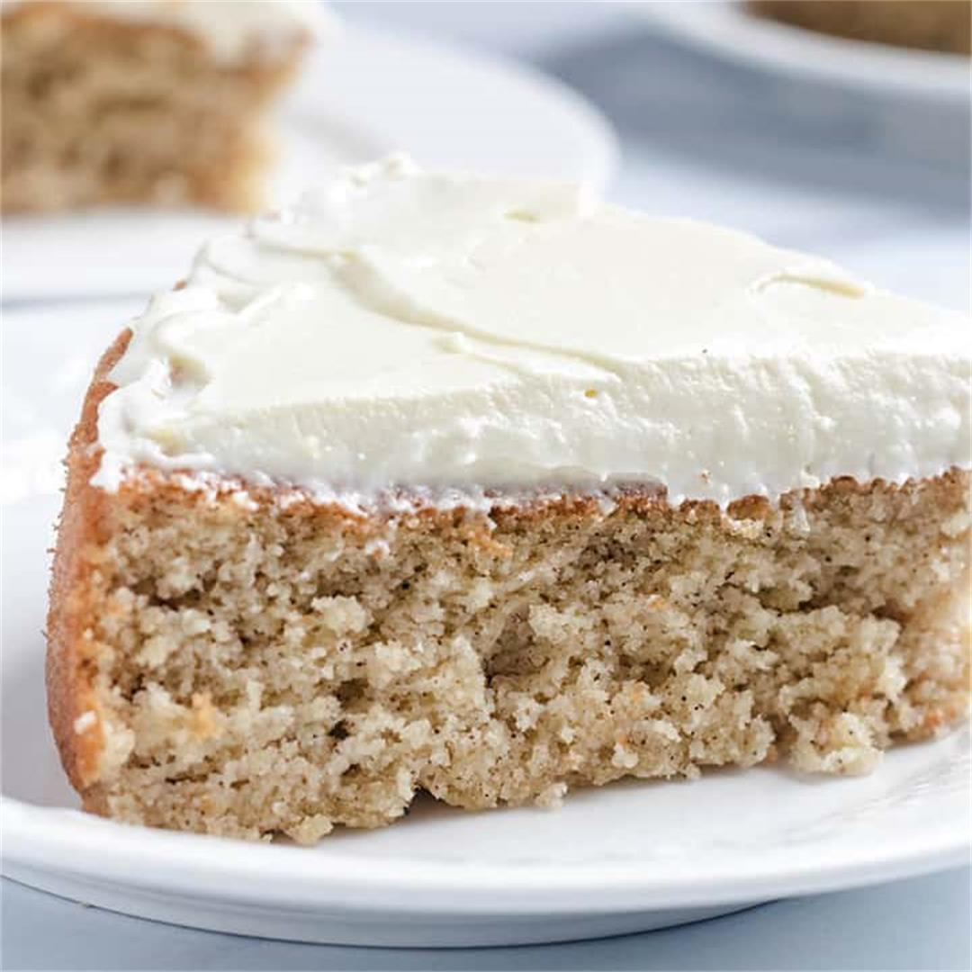 Keto Spice Cake with Cream Cheese Frosting