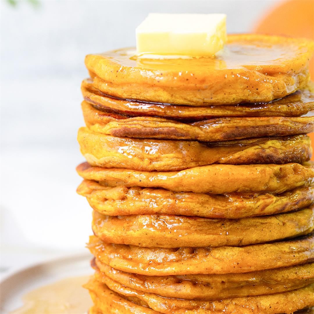 Healthy Pumpkin Pancake Recipe-Healthy Life Trainer