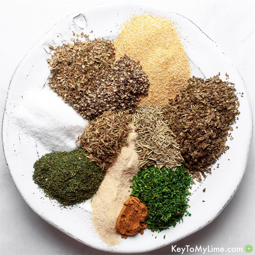 Mediterranean Seasoning Blend (BEST Greek Seasoning)