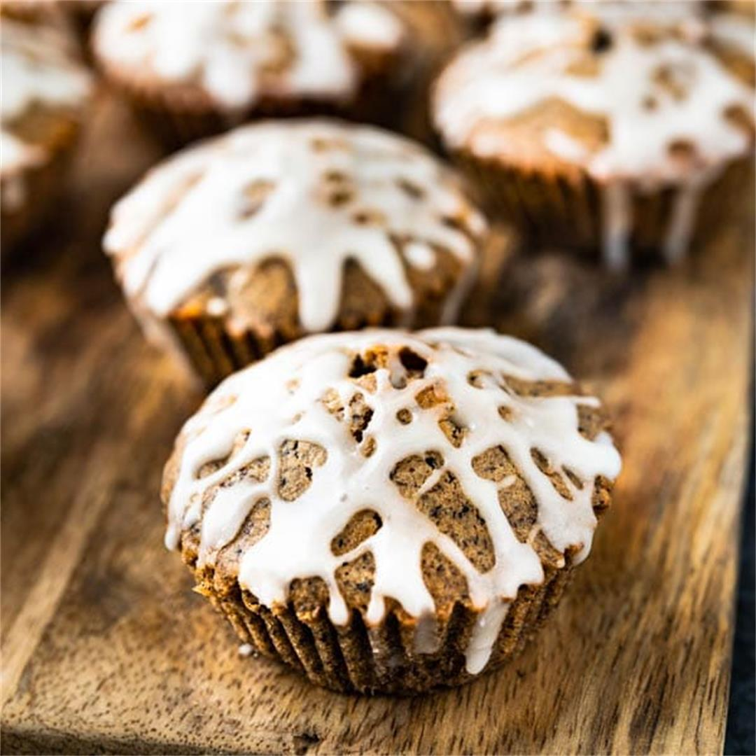 The Gluten Free Apple Walnut Muffins You'll Crave