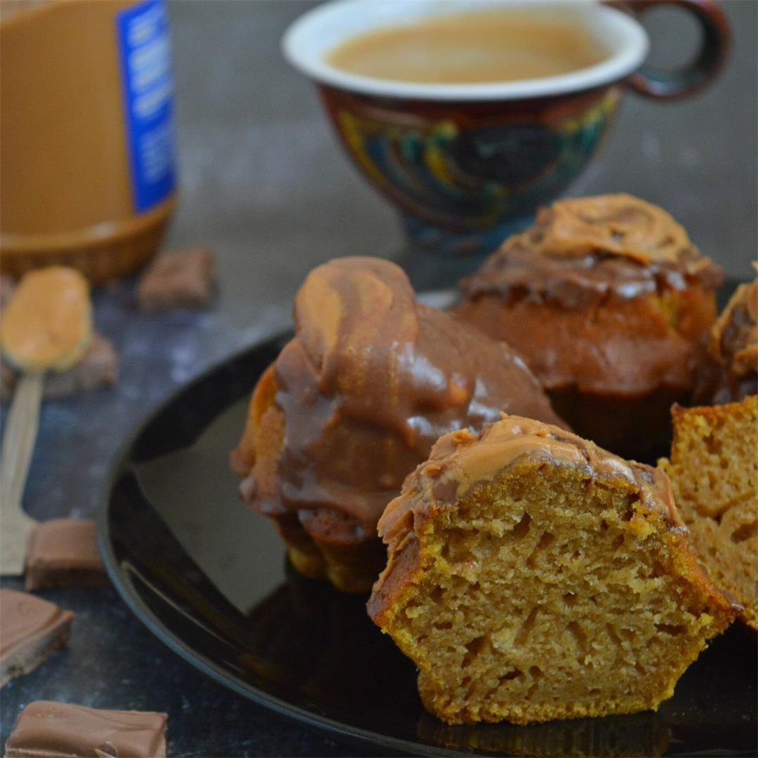Peanut Butter & Chocolate Pumpkin Muffins — Tasty Food for Busy