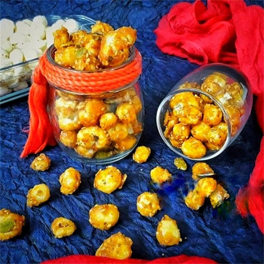 Caramelized Makhana (Fox Nuts)