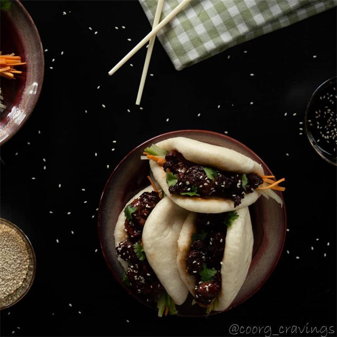 Gautam Kushalappa on Bao Buns with Honey Garlic Pork 🥡  One of