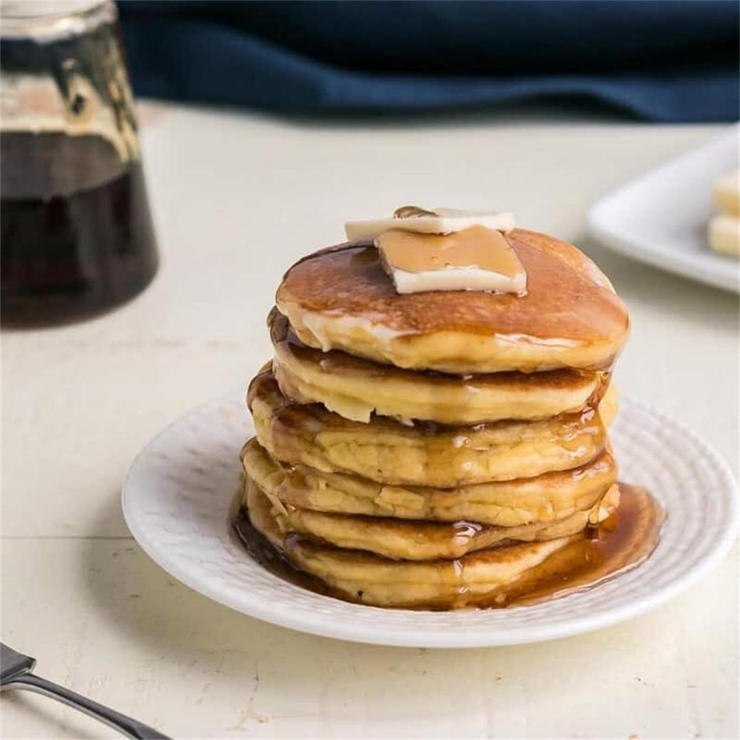 Oat Fiber Keto Buttermilk Pancakes