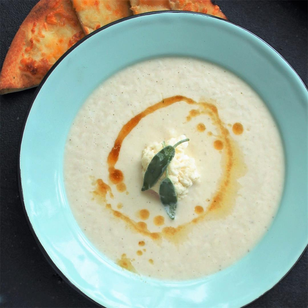 Cauliflower Soup with Brown Butter – My Recipe Reviews