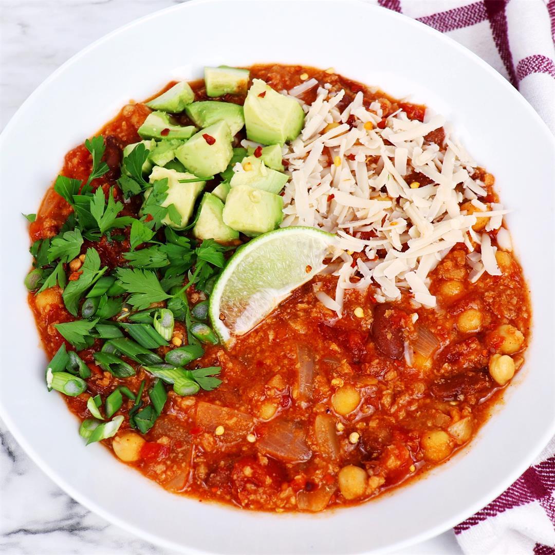 The Ultimate Vegan Chili