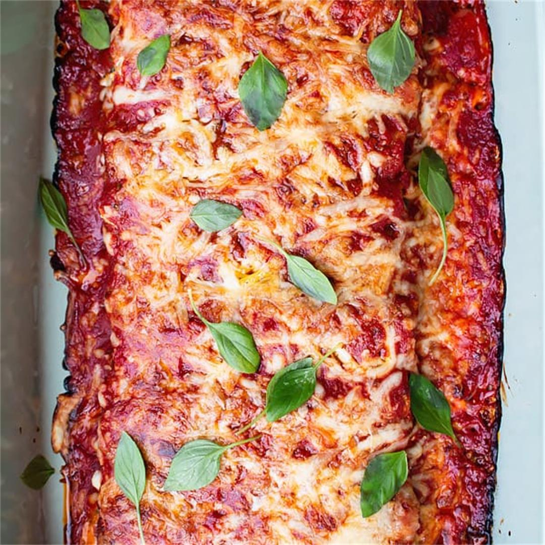 Baked Cannelloni with Spinach