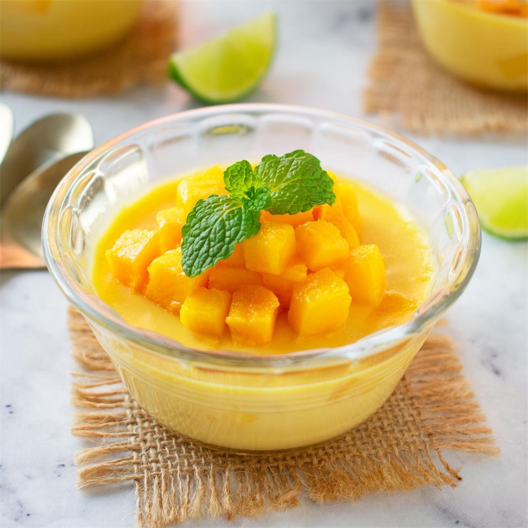 All Seasons Mango Pudding