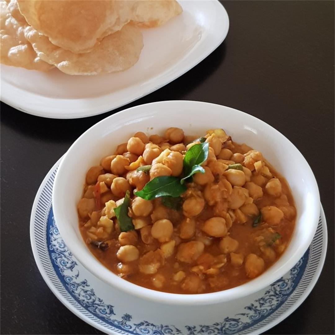 Chickpea/Channa/ Kadala Curry