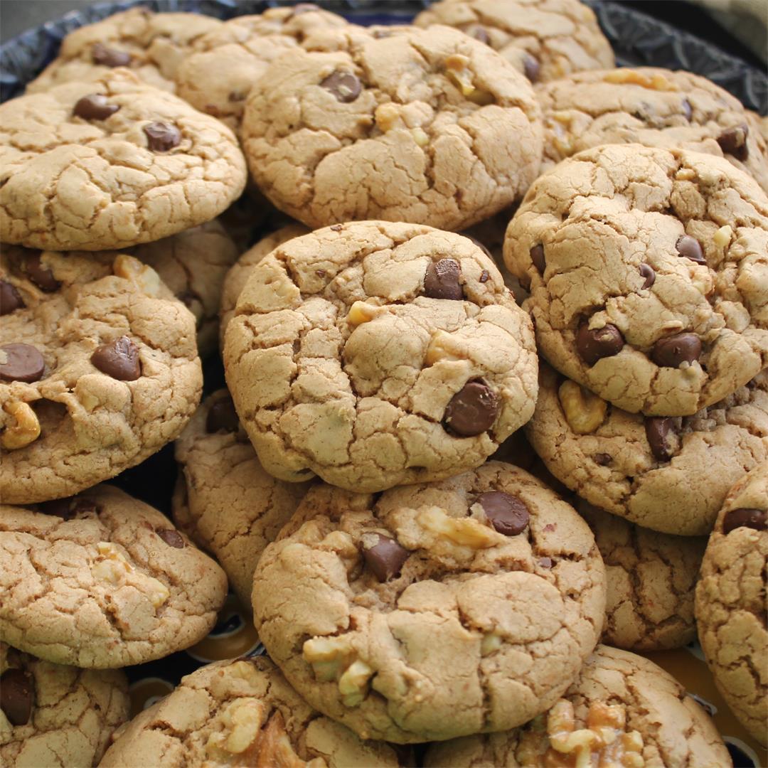 Chocolate Walnut Spice Cookies – My Recipe Reviews