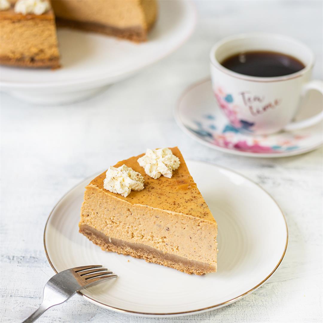Pumpkin Cheesecake-Healthy Life Trainer