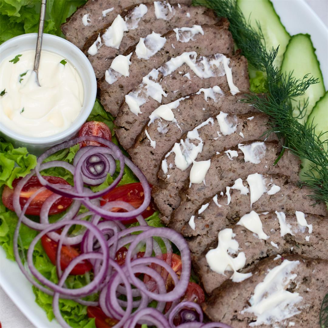 Homemade Gyro Meat Recipe (Keto)