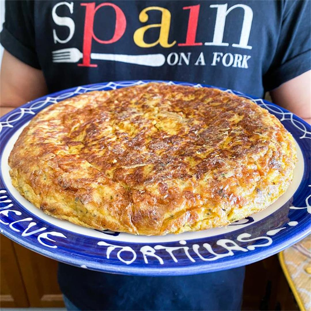 Spanish Onion Tortilla | Possibly the Best-Tasting Omelette