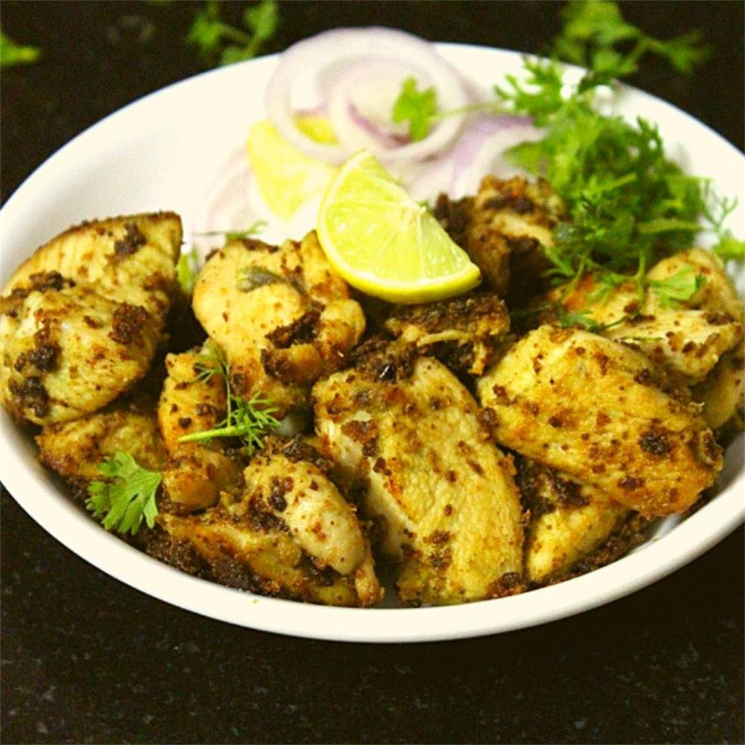 chicken malai tikka recipe, murgh malai tikka