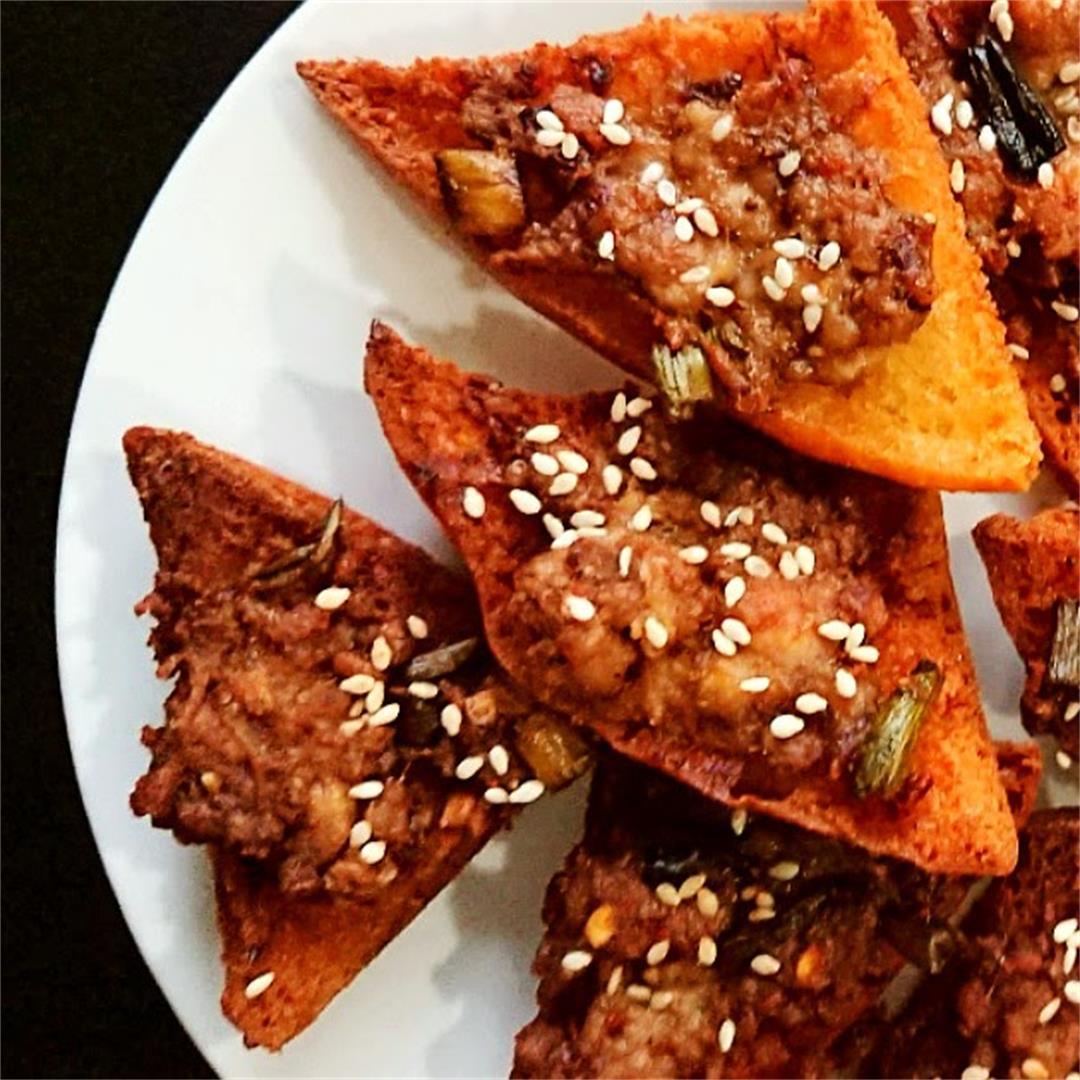 Gluten Free Chicken Sesame Toast