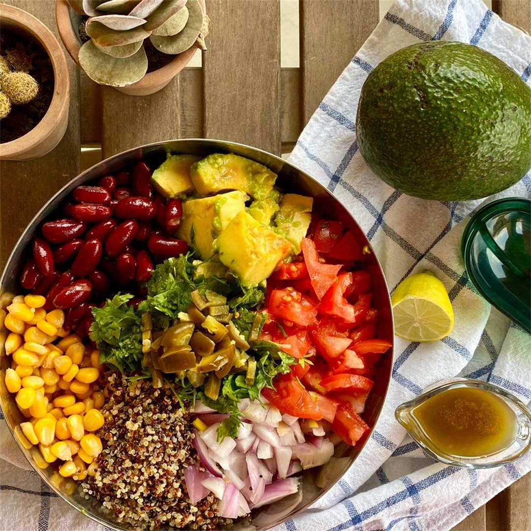 Heart-Healthy Mexican Quinoa Salad