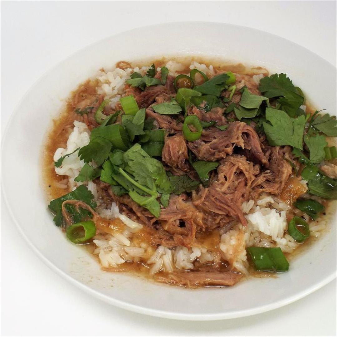 Slow Cooker Coconut Pork