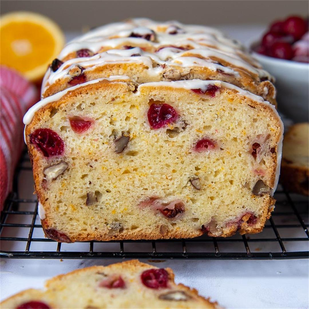 Gluten Free Cranberry Orange Bread