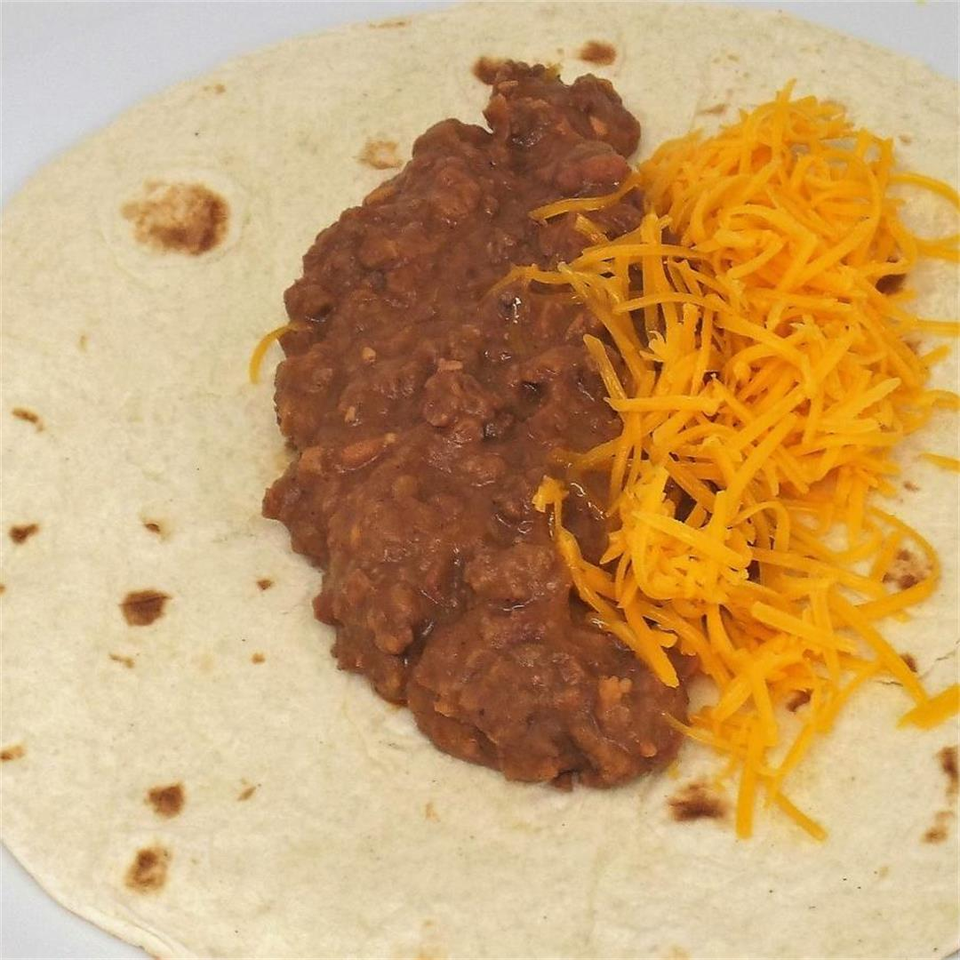 Slow Cooker Refried Beans and Beef