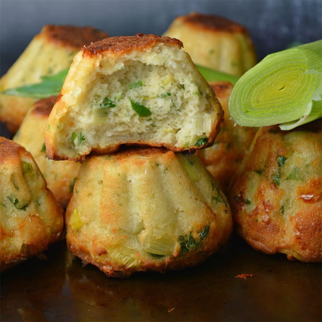 Cheesy Leek Muffins — Tasty Food for Busy Mums Seasonal Recipes